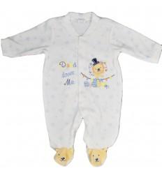 Pijama enteriza bebé niño leon-Kidhouse