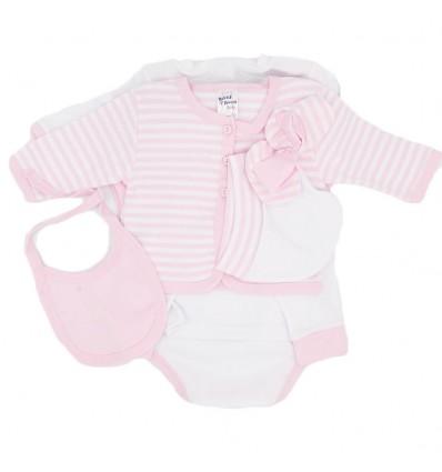 Primera muda bebé-Rosada