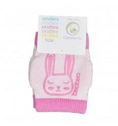 protector de rodillas para bebé rosadas