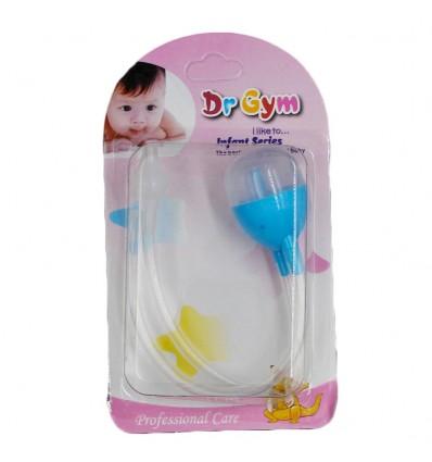 Aspirador nasal para bebé azul