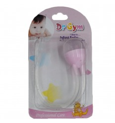 Aspirador nasal para bebé rosado