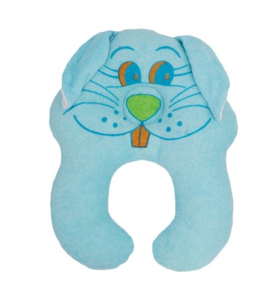 Almohada estabilizadora de conejo azul
