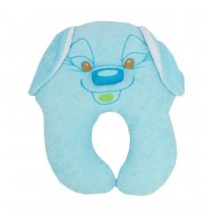 Almohada estabilizadora perro azul
