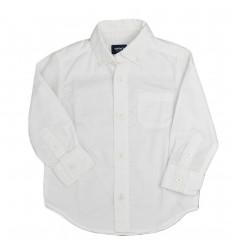 Camisa manga larga carter´s blanca