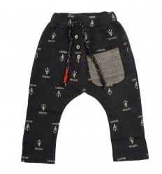 Pantalón sudadera gris-Kidhouse