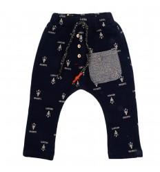 Pantalon sudadera azul oscuro