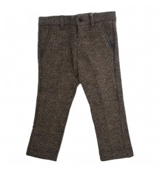 Pantalon para niño mayoral cafe