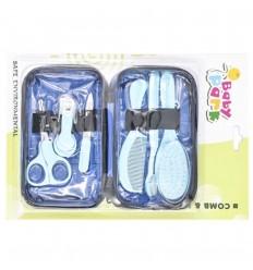 kit de aseo para bebé azul