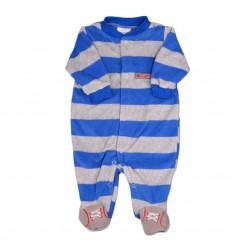 Pijama enteriza niño a rayas