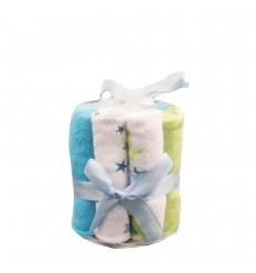 Toallitas para bebe babitas azul