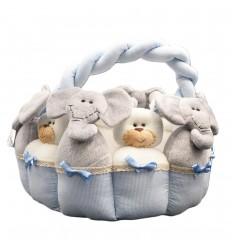 Canasta organizador de aseo para bebé