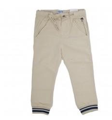 Pantalón en dril para niño beige
