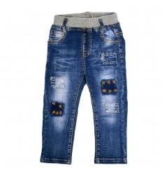 Pantalón jean para niño azul