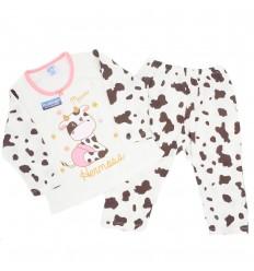 Pijama dos piezas diseño de vaca
