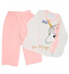Pijama dos piezas diseño de unicornio