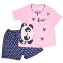Pijama dos pieza diseño de panda