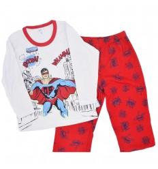 Pijama dos piezas de super heroe