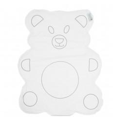 Cambiador diseño de oso-blanco