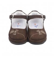 Zapato no tuerce- Nobuk marron