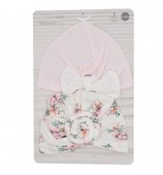 Turbantes por 2 para bebé-estampados