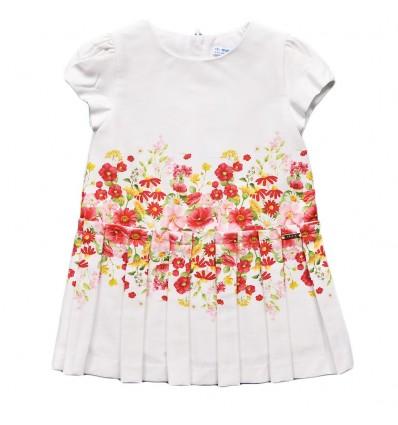 Vestido para bebé blanco mayoral