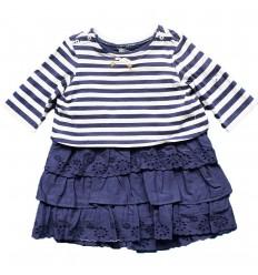 Vestido para bebé azul mayoral