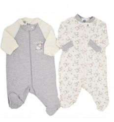 Set de dos pijamas para bebé niño