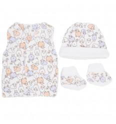 Set de ropa para bebè prematura-ovejas