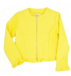 Chaqueta para niña Mayoral-amarilla