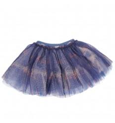 Falda tutu azul con letras-Kidhouse