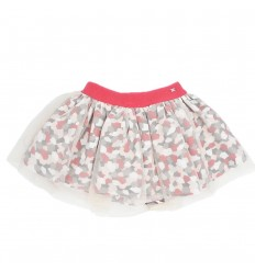Falda tutu mayoral- rojo estampada
