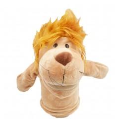 Títere de peluche- diseño de leon