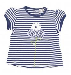 Camisa mayoral para bebé niña-azul