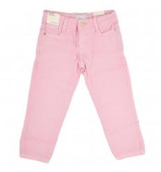 Pantalon en jean para niña-rosado claro