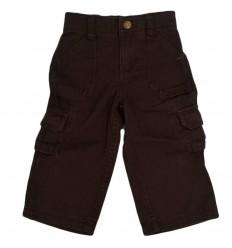 Pantalon cafe para bebé niño