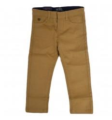 Pantalon en dril para niño-Camel