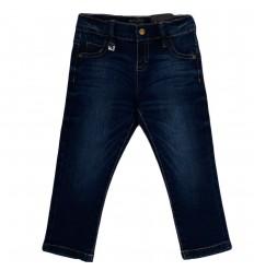 Jean mayoral para niño-azul oscuro