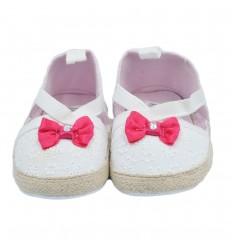 Zapato para bebé niña-blanco