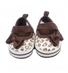 Zapatos para bebé niña-cafe