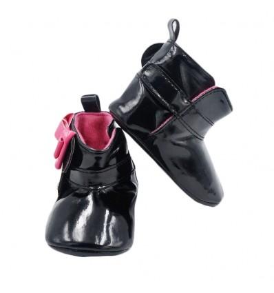 Botas negras para bebé niña
