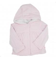Chaqueta para bebé niña-Rosada
