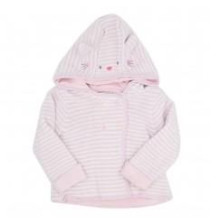 Chaqueta en hilo para bebé-diseño de animalito