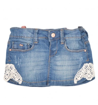 Falda para bebé de jean