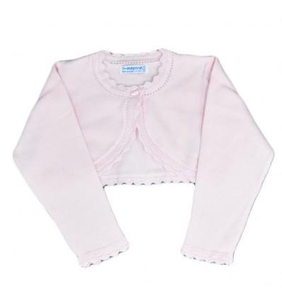 Torero en hilo para bebé rosado