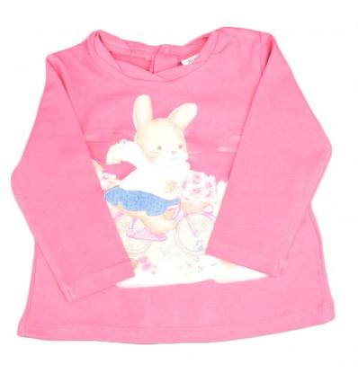 Buzo para bebé niña-estampado de coneja
