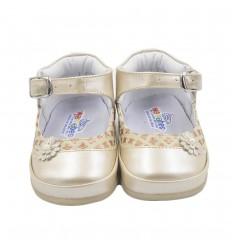 Zapato no tuerce niña-beige