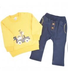 Conjunto dos piezas para bebé-amarillo
