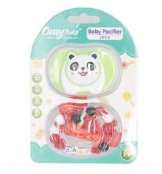Sujetador con chupo de entretención-panda