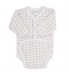 Body para bebé prematura con extensor
