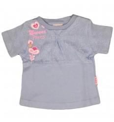 Camiseta para niña-azul